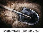 Dirty Shovel In Fresh Soil....
