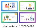 increase own capital landing... | Shutterstock .eps vector #1356366506