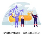 oil and gas industry concept... | Shutterstock .eps vector #1356368210