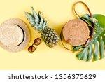 women's accessories traveler ... | Shutterstock . vector #1356375629