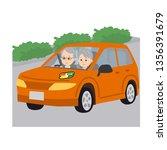 illustration of elderly people... | Shutterstock .eps vector #1356391679