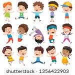 vector illustration of cartoon... | Shutterstock .eps vector #1356422903
