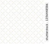 golden abstract geometric... | Shutterstock .eps vector #1356448586