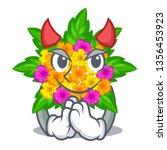 Devil Lantana Flowers In The...