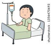 vector of patient using... | Shutterstock .eps vector #1356470693