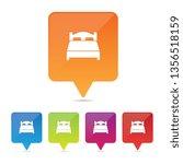 vector bed pins | Shutterstock .eps vector #1356518159