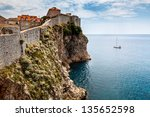 Yacht And Impregnable Walls Of...
