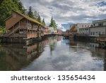 Ketchikan  Alaska  Picturesque...