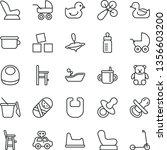 thin line vector icon set  ...   Shutterstock .eps vector #1356603200