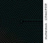 dark blue  green vector layout... | Shutterstock .eps vector #1356619559