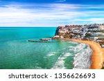 picturesque peschici with wide... | Shutterstock . vector #1356626693