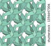 vector succulents floral...   Shutterstock .eps vector #1356647306