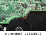 the exterior electronics of a... | Shutterstock . vector #135665573
