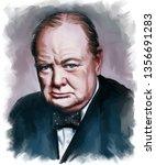 Portrait Of Sir Winston Leonar...