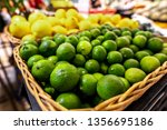 Lime And Lemons Background....