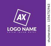 ax logo concept. designed for...