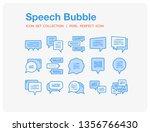 speech bubble icons set. ui...