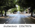 early yom kippur morning in the ... | Shutterstock . vector #135679076