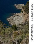 cinque terre  liguria  italy. a ... | Shutterstock . vector #1356841109