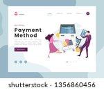 flat vector illustration idea... | Shutterstock .eps vector #1356860456