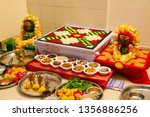 indian holy rituals  | Shutterstock . vector #1356886256