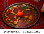 indian holy rituals  | Shutterstock . vector #1356886259