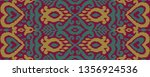 ethnic vector seamless pattern. ... | Shutterstock .eps vector #1356924536