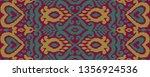 ethnic vector seamless pattern. ...   Shutterstock .eps vector #1356924536