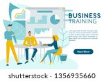 business training concept web... | Shutterstock .eps vector #1356935660