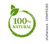natural product isolated ...   Shutterstock .eps vector #1356955283