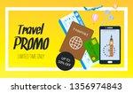 Travel Promo Vector Horizontal...