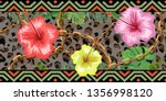 horizontal chains seamless with ...   Shutterstock .eps vector #1356998120