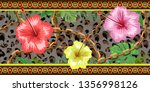 horizontal chains seamless with ...   Shutterstock .eps vector #1356998126