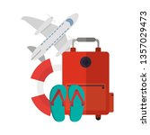 vacations and travel concept   Shutterstock .eps vector #1357029473