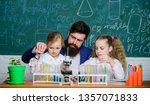 how to interest children study. ... | Shutterstock . vector #1357071833