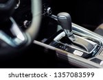 gearshift inside car | Shutterstock . vector #1357083599