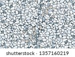 grey gravel texture wallpaper.... | Shutterstock .eps vector #1357160219
