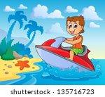 water sport theme image 4  ...   Shutterstock .eps vector #135716723