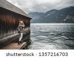 young photographer at the... | Shutterstock . vector #1357216703