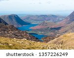 view of  crummock water and... | Shutterstock . vector #1357226249