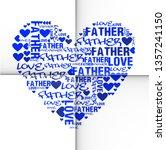 love   father  word cloud... | Shutterstock . vector #1357241150