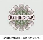 green and red rosette  money... | Shutterstock .eps vector #1357247276