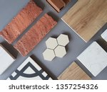 samples of material  wood   on ...