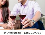 close up of man sitting with... | Shutterstock . vector #1357269713