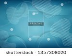 colorful background. liquid... | Shutterstock .eps vector #1357308020