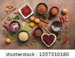 super food background  a... | Shutterstock . vector #1357310180