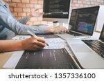 professional developer... | Shutterstock . vector #1357336100