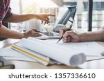 construction and structure... | Shutterstock . vector #1357336610