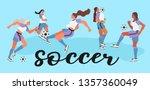 vector illustration of women in ... | Shutterstock .eps vector #1357360049