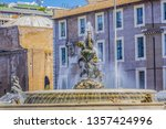 Fountain Of The Naiads On...